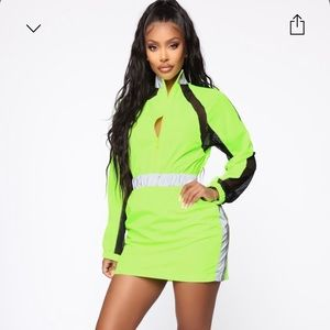 Look at Me Now Reflective Dress